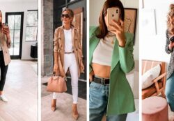 10 outfits with blazers and jeans to look formal and casual at the same time