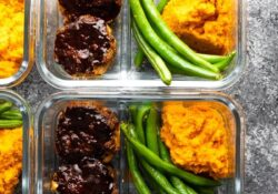 Grill Meatballs Meal Prep Bowls