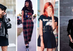 5 rocker and casual outfits for a weekend