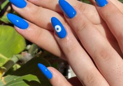 30+ Stunning Blue Nails To Do This Summer