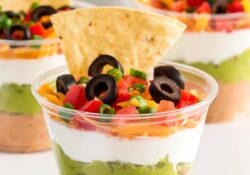 7-layer dip cup - I Heart Naptime