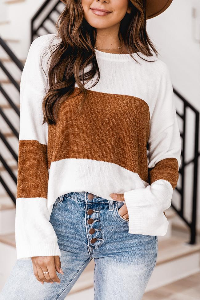 cute autumn outfit with sweater