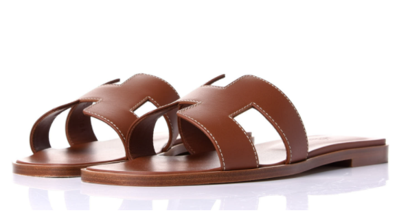 Brown Hermes Oran sandals for the best designer shoes to invest in