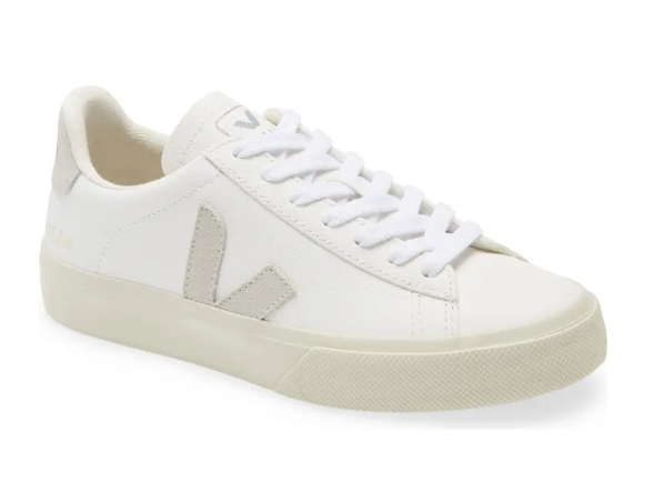 Veja sneakers in white to invest in the best designer shoes