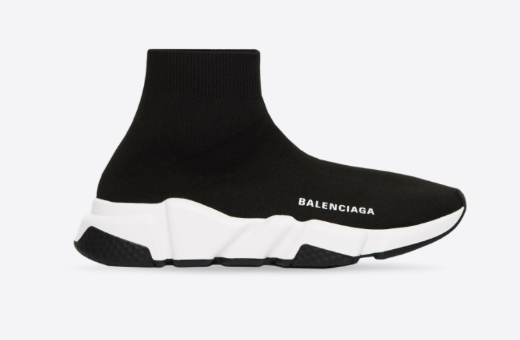 Black Balenciaga Speed Sneakers for investing in the best designer shoes